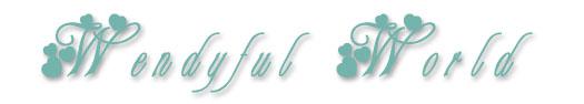 Wendyfulworld logo